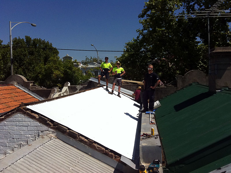 Roof restorations from small to large buildings